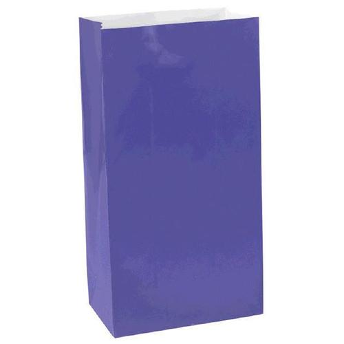 New Purple Mini Paper Bag - Amscan