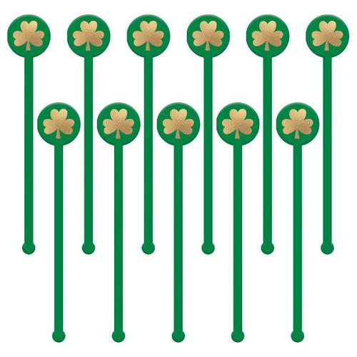 St Patrick's Day Stirrers Plastic - Amscan
