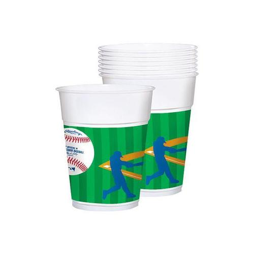 Mlb 16oz Plastic Cup 25ct