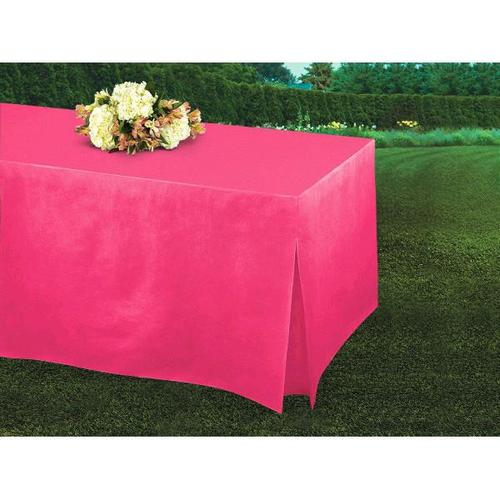 Bright Pink Tablefitter - Amscan