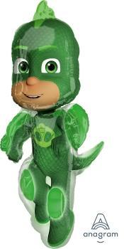 "Supershape PJ Masks Gekko 38"" Balloon - Anagram"