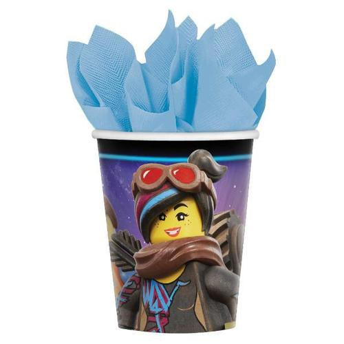Lego Movie 2 Cups 8ct - Amscan