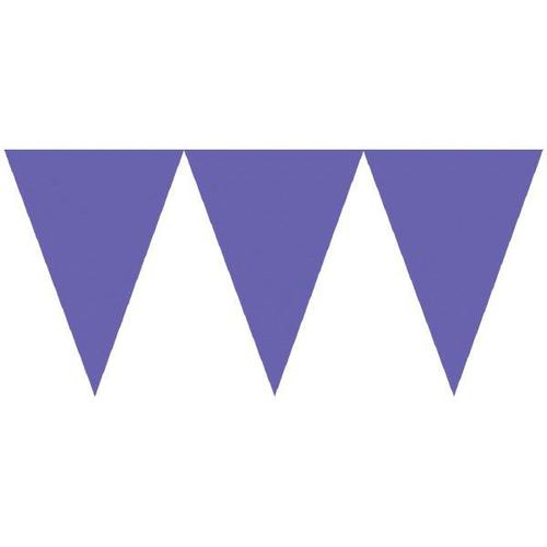 New Purple Paper Pennant Banner - Asmcan