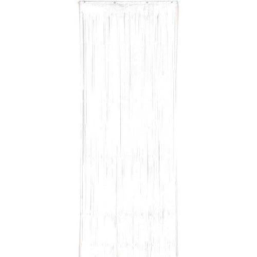 Frosty White Plastic Curtain