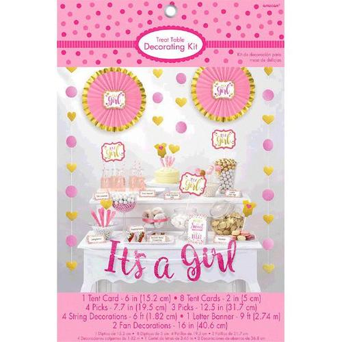 Girl Candy Buffet Decorating Kit - Amscan
