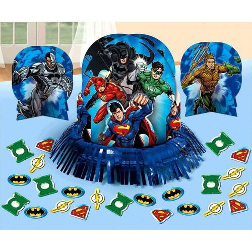 Justice League Table Decorating Kit - Amscan