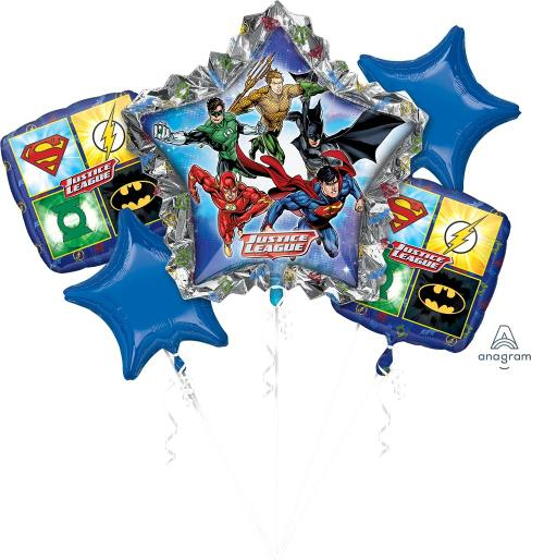 Justice League Balloon Bouquet - Anagram