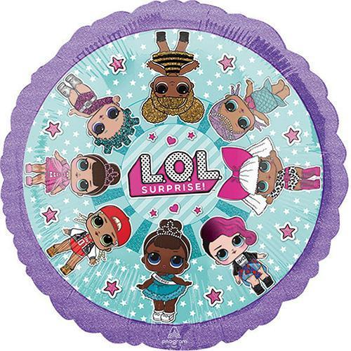 "17"" LOL Surprise Foil Balloon - Flat - Anagram"