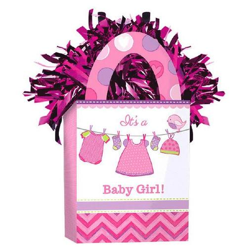 Shower Girl Mini Tote Balloon Weight - Amscan