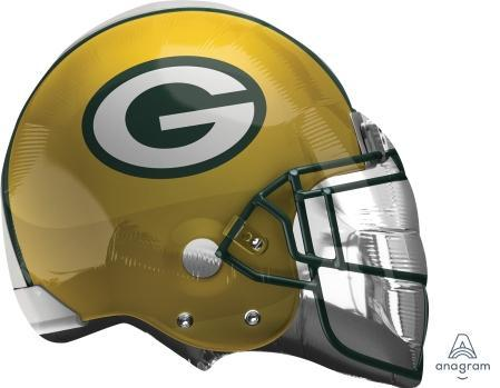 "Supershape Green Bay Packers Helmet 21"" Balloon"