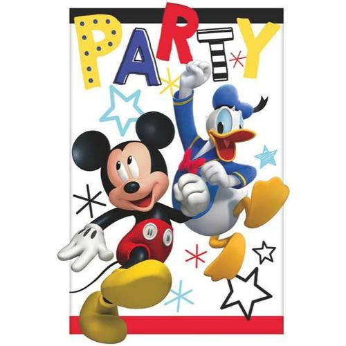 Mickey On The Go Invite - Amscan