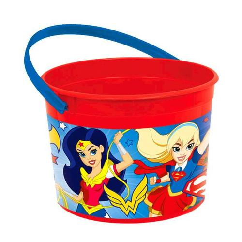 Superhero Girls Favor Container - Amscan