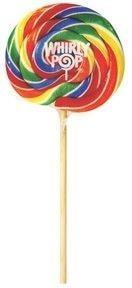 "Whirly Pop Rainbow 9"" 48/3oz"