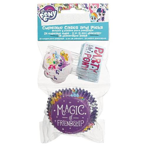 My Little Pony Friendship Adventures Cupcake Cases & Picks - Amscan
