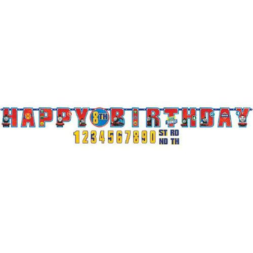 Thomas the Tank Engine Jumbo Birthday Banner - Amscan