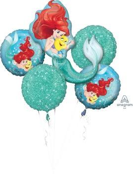 Ariel Dream Big Balloon Bouquet - Anagram