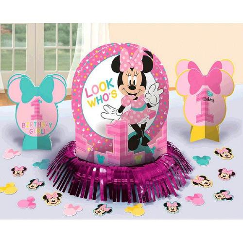 Minnie Fun2B1 Table Deco Kit - Amscan