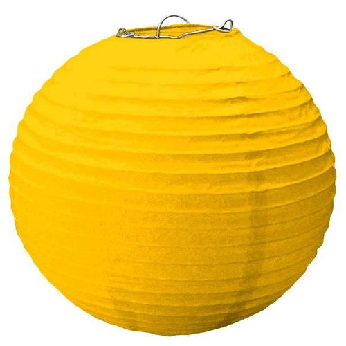 Yellow Sunshine Large Lantern - Amscan