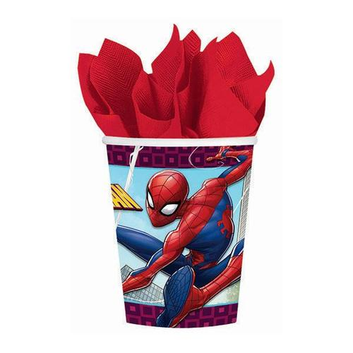 Spider Man Web 9oz Paper Cup - Amscan