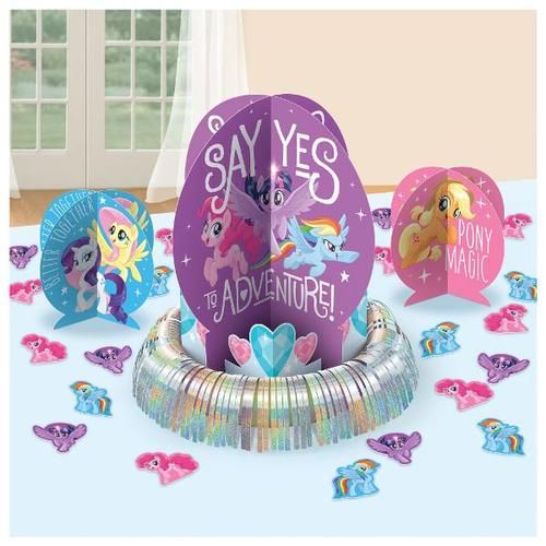 My Little Pony Friendship Adventures Table Decorating Kit - Amscan