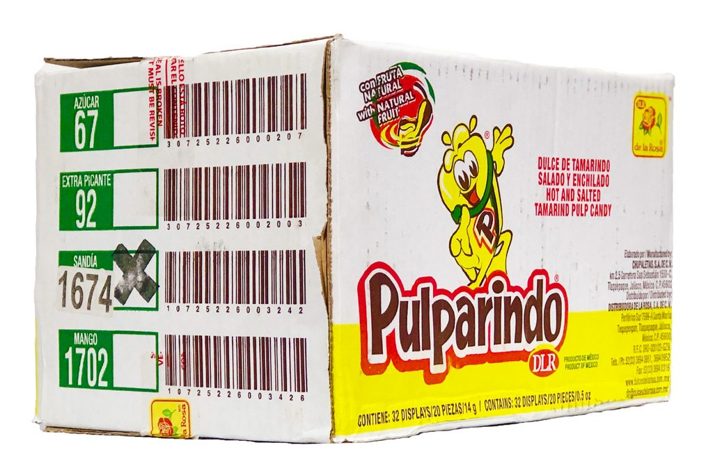 Pulparindo Watermelon 32/20 - Case - de la Rosa