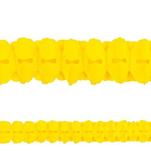 Yellow Sunshine Paper Garland - Amscan