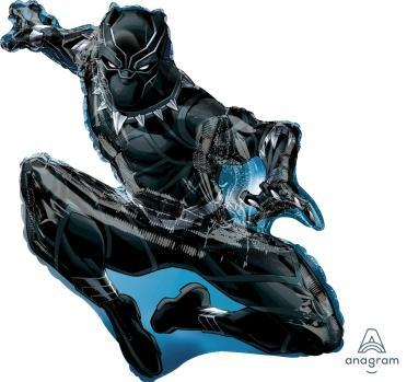 "Supershape Black Panther Shape 32"" Balloon - Anagram"