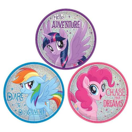 My Little Pony Friendship Adventures Dessert Plates 8ct - Amscan