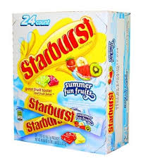 Starburst Summer Splash  24/2.07oz - Wrigley