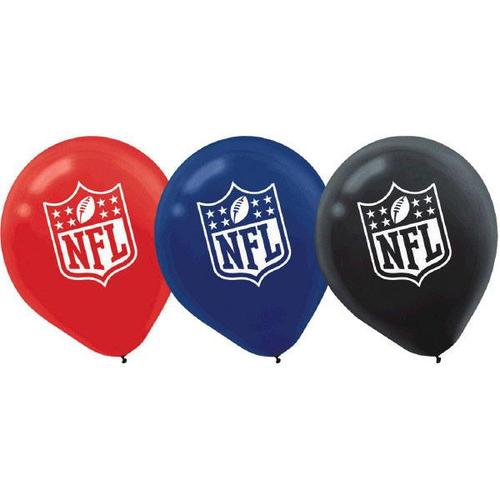 "NFL 12"" Latex Balloon 6ct"