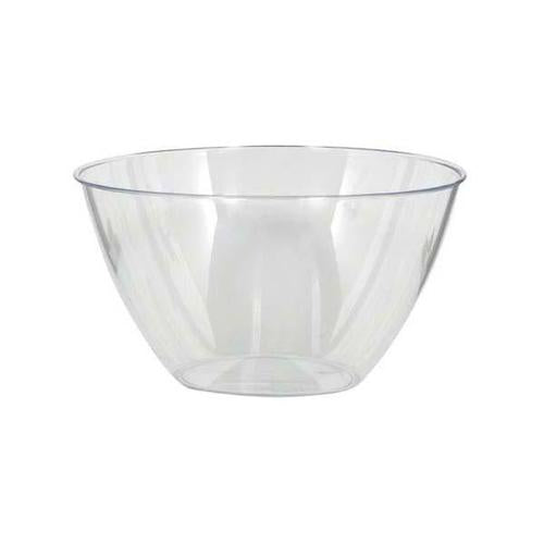 Plastic Clear Small Bowl 24oz - Amscan