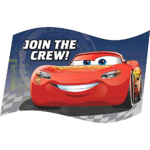 Cars 3 Invite - Amscan