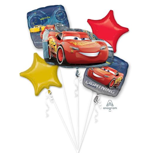 Cars 3 Lightning McQueen Balloon Bouquet - Anagram