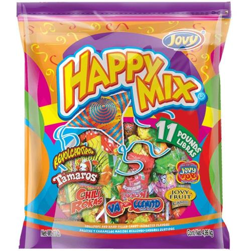 Happy Mix 4/11Lb -Case - Jovy