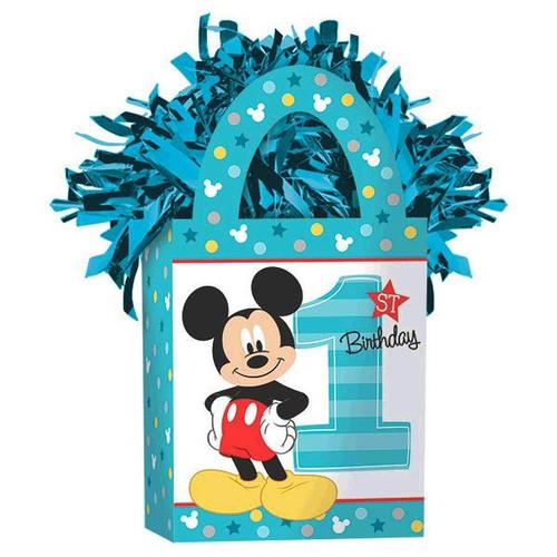 Mickey Fun To Be One Mini Tote Balloon Weight - Amscan
