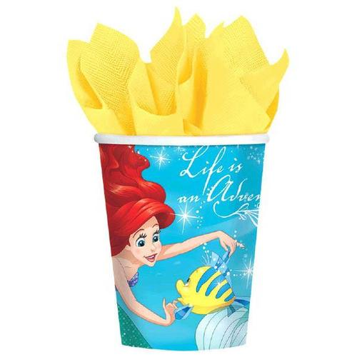 Ariel Dream Big 9Oz Cups - Amscan