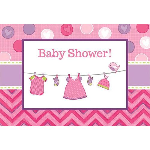 Shower Girl Invitations