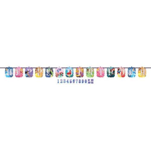 Princess Dream Jb Letter Banner - Amscan