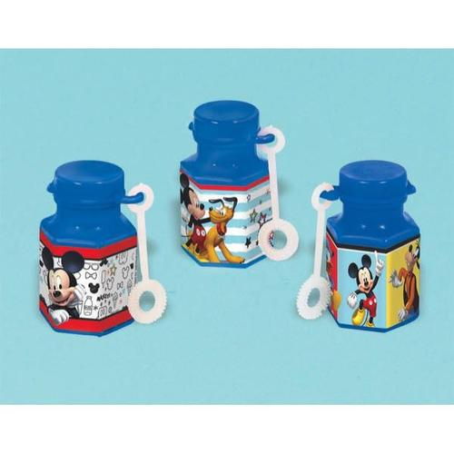 Mickey On The Go Mini Bubbles - Amscan
