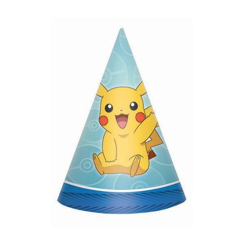 Pokemon Core Party Hats - Amscan