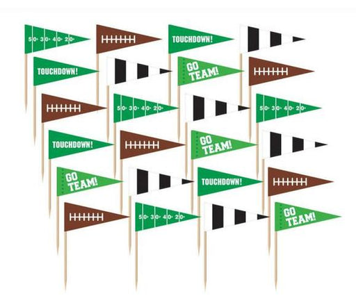 Football Flag Picks - Amscan