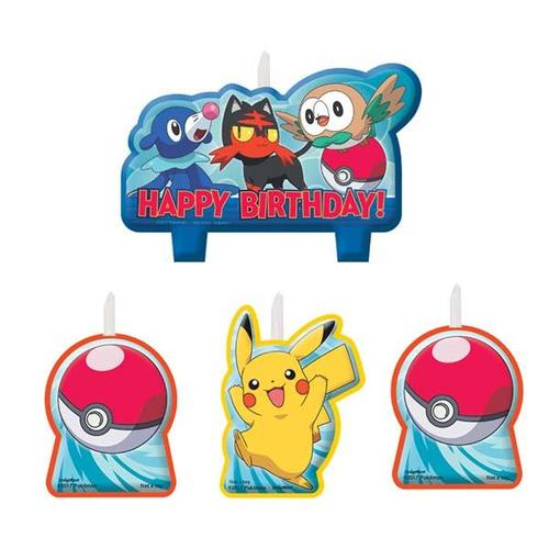 Pokemon Core Candle Set - Amscan