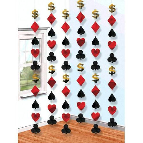 Casino String Decorations - Amscan