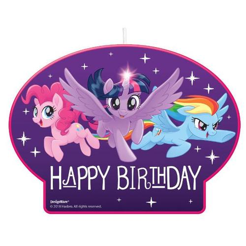 My Little Pony Friendship Adventures Candle - Amscan