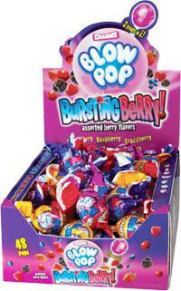 Blow Pop Bursting Berry 48/.65oz - Charms Company
