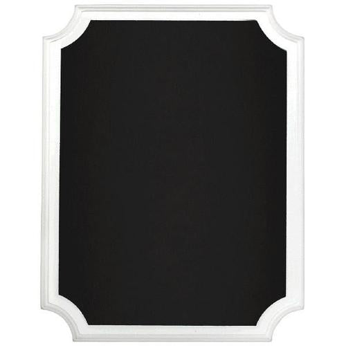 Chalkboard Easel Sign White Border - Amscan