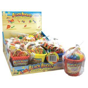 Beach Buckets N Treats 12/1.48oz - Foreign Candy Company
