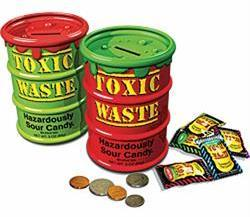 Toxic Waste Limited Edition Bank 12ct - Candy Dynamics