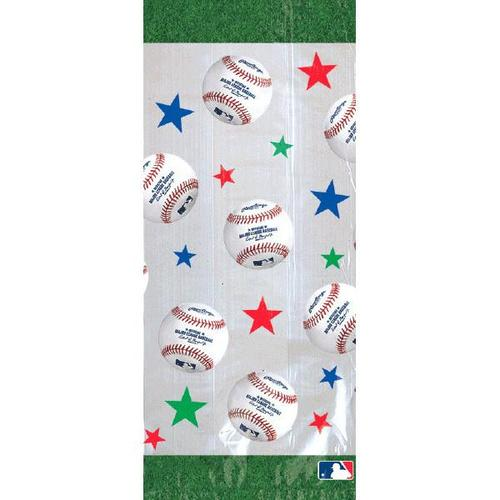 Mlb Large Party Bag 20ct - Amscan