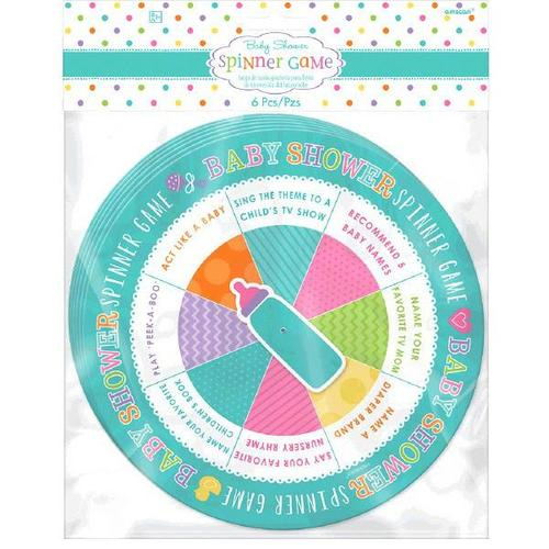 Baby Shower Game Spinner